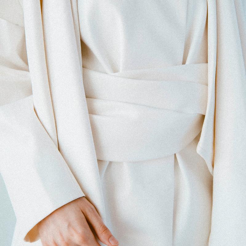 tejidos, blanco, slowliving